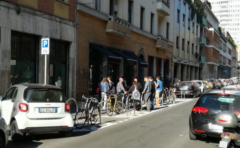 Bike parking. A Milano è a portata di tutti.