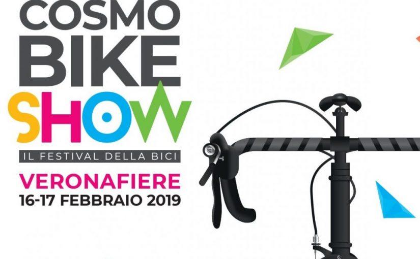 Cosmobike 16 e 17 febbraio a Verona. Per vedere e provare tutto!