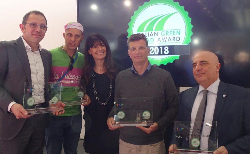 La Ciclovia del Fiume Oglio vince l'Italian Green Road Award
