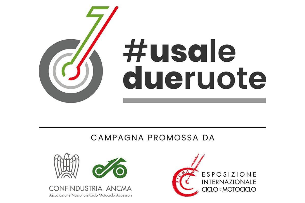 Fase 2, Confindustria ANCMA ed EICMA lanciano la Campagna #usaledueruote