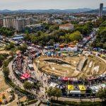 circuito di prova del Italian Bike Festival - la più grande manifestazione italiana dedicata al mondo della bicicletta